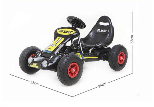 china wholesale high quality kids pedal go kart child beach 4 wheel