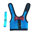 Supplies Plaid Small Pet Cat Rabbit Harness Dog Harness With Leash
