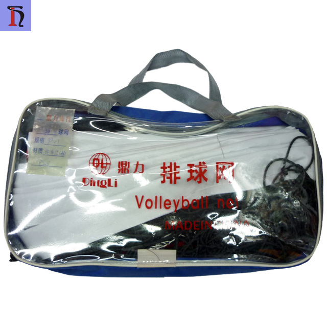 made in china yiwu factory hot sell reinforcing wire volleyball net for training