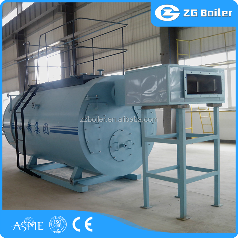 Factory price natural gas/lng/lpg fuel hot water boiler