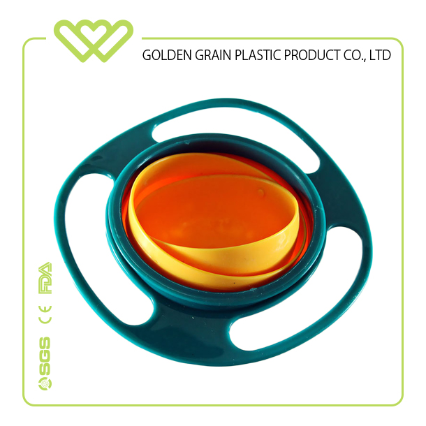 Factoryl wholesale children's bowl rotating saucer bowl