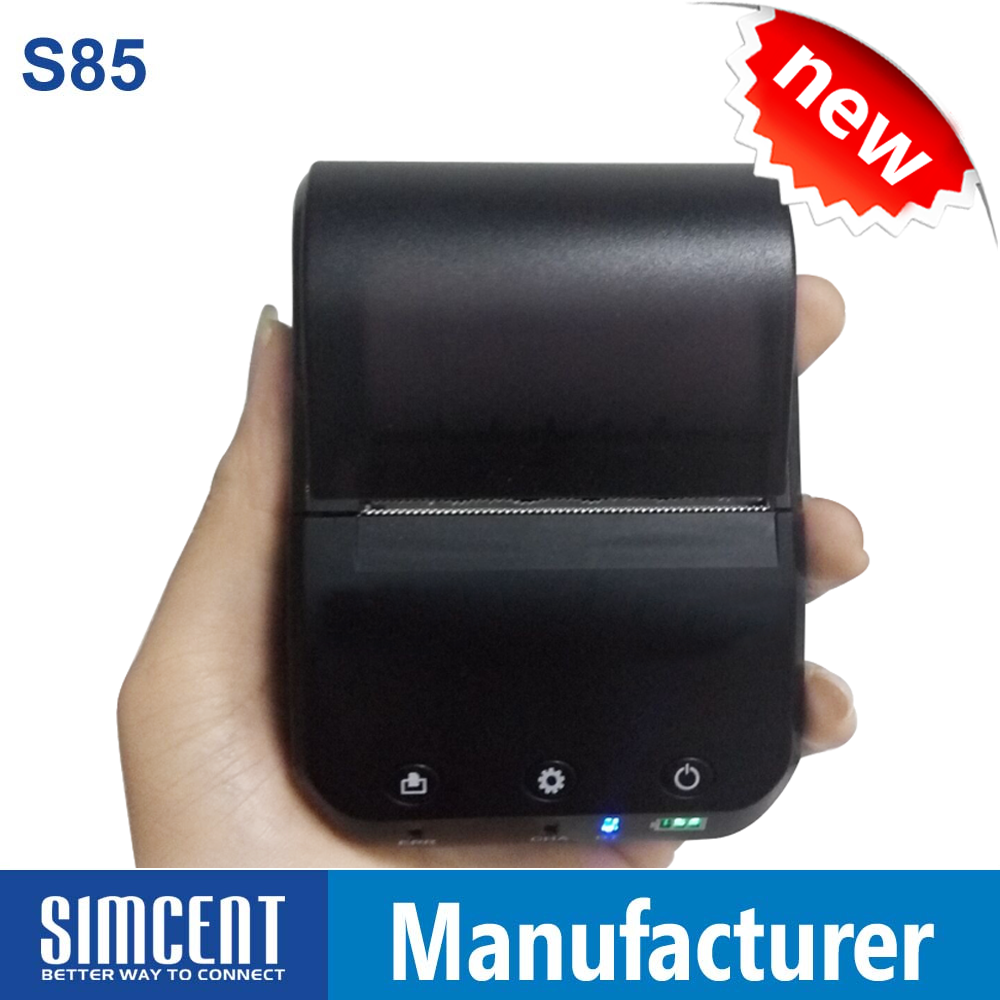 58MM Mini Dot Matrix Bill Partable Mobile Bluetooth <strong>Printer</strong>