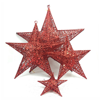 Christmas Tree Star.Christmas Items Metal Wire Glitter Hanging Star Crafts For Xmas Tree Buy Glitter Star Star Crafts Glitter Hanging Star Product On Alibaba Com