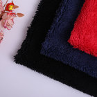 Wholesale market 100 polyester short plush fabric price