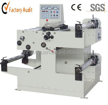 320mm automatic label slitter rewinder/label inspecting machine