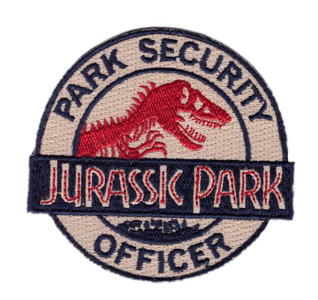 0a2cef215e8 Get Quotations · Miltacusa Hook Jurassic Park Ranger Security Officer  Costume Backpack Tactical Patch