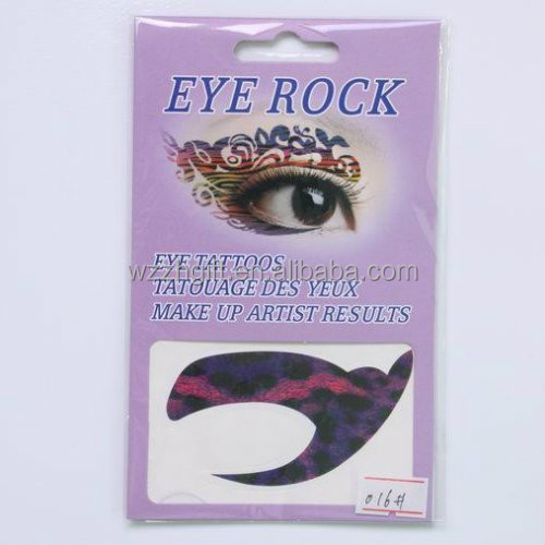 hot sell water transfer eye temporary tattoo eye tatoo sticker for 2014 foot world cup