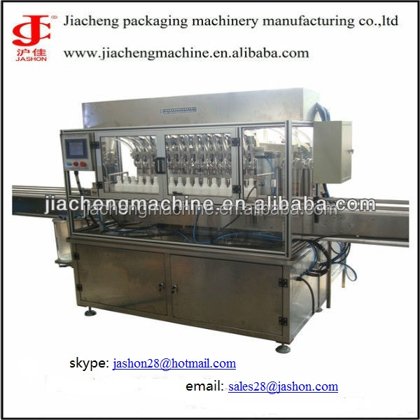 Shanghai skin cream Pnuematic filling machine CE certification