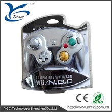 For game cube analog controller with vibration feedback for nintendo game cube video games in China