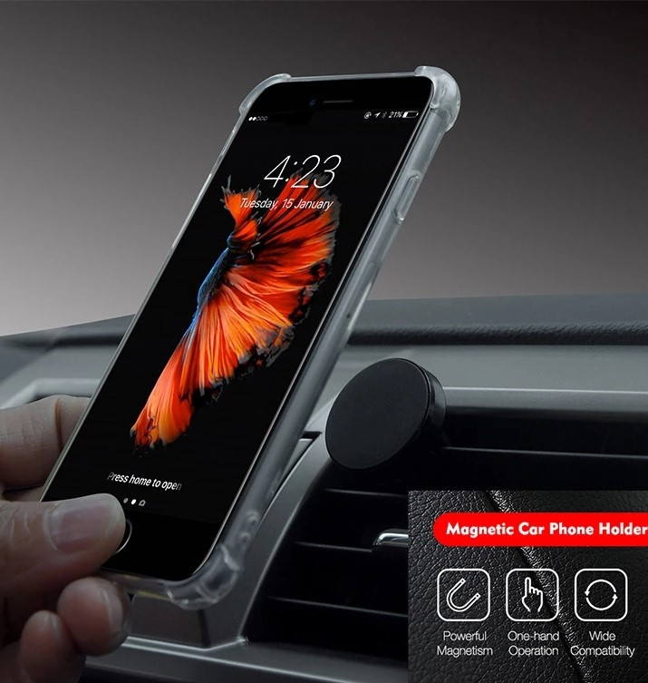 Mobile phones accessories magnetic car air vent stand mount car cell phone holder