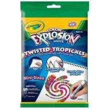 Color Explosion White Markers Kit Styles May Vary By Crayola 1 99 Limited Edition 18 Pages Included Offers Kids Endless Surprising Fun With Un
