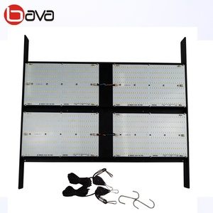 The newest flexible adjustable width hlg 550 v2 led grow light 480w samsung lm301b quantum board