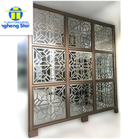 h2 Foshan stainless steel metal decorative wall panels screen h2