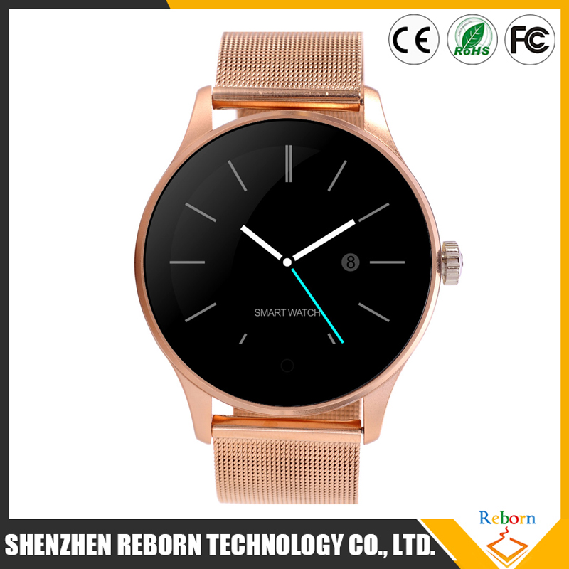 Original K88H Bluetooth Smart Watch Health Metal Smartwatch Heart Rate Monitor for apple iphone