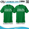 Custom Reversible T-shirt Manufacturer