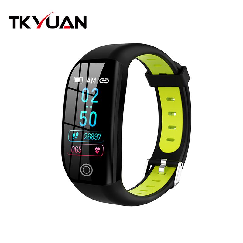 TKYUAN 2019 New Health Fitness Watch F21 Smart Bracelet Cicret Fitness Tracker Blood Pressure Ce Rohs Smart Bracelet фото