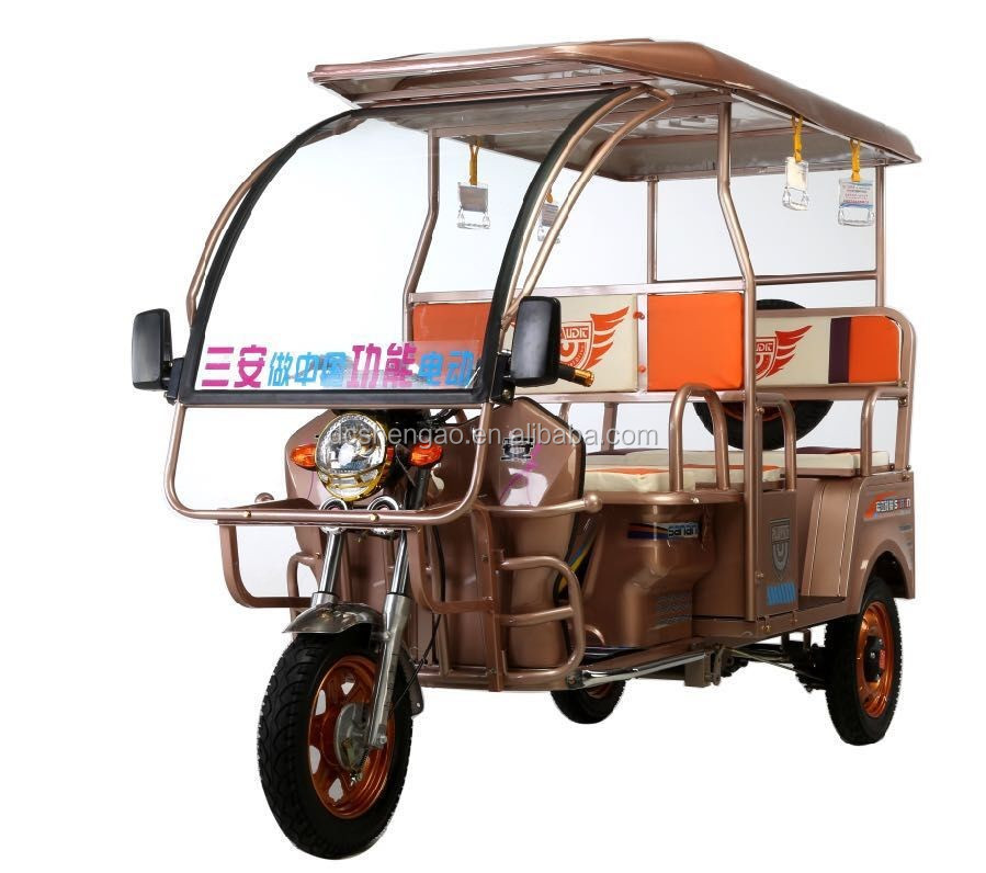 2016 three wheel battery operate rickshaw/e rickshaw/electric auto rickshaw