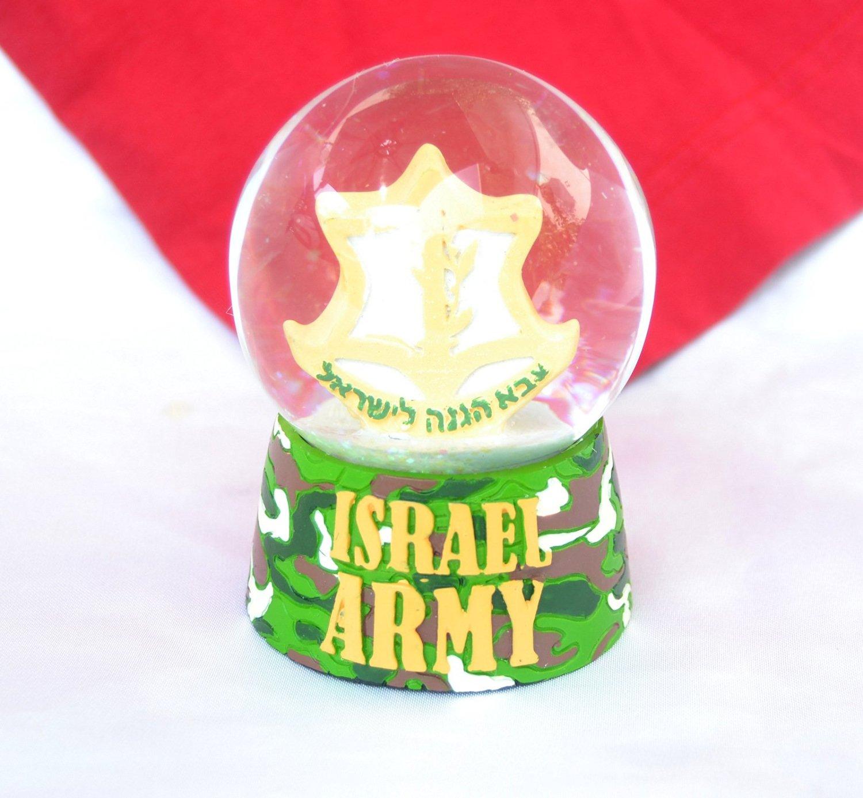 Snowdome israel ZAHAL IDF DEFENSE FORCES israeli army Snowglobe S-90mm