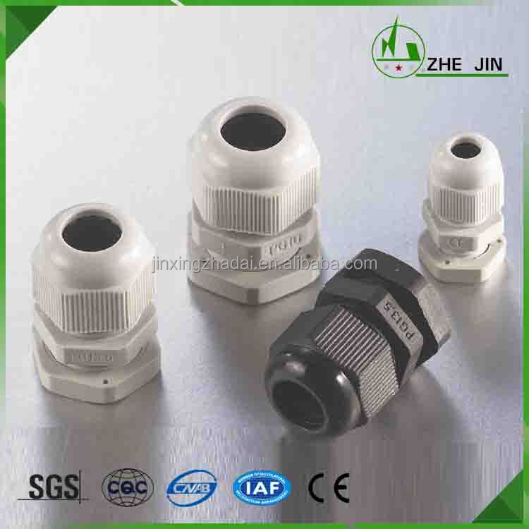 Zhe Jin 2016 Top Quality Pg Size 3 Colors Metric Thread Nylon Cable Gland