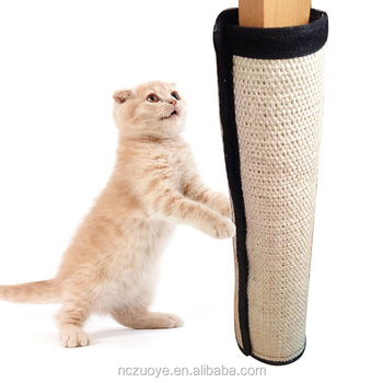 Natural Sisal Cat Scratching Post Mat Toy For Cats Catnip Tower Climbing Tree Scratch Pad