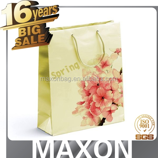promotional golden suppiler reusable vinyl tote shopping bag made in China