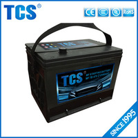 2016 best sell electric car battery good price 12v 60ah solar car battery charger