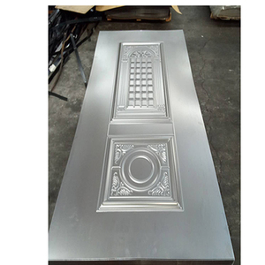 Zhejiang factory surface finished new design material steel door skin mold
