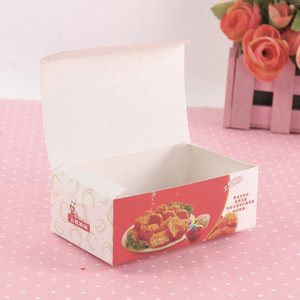 color food packaging printing fried chicken box