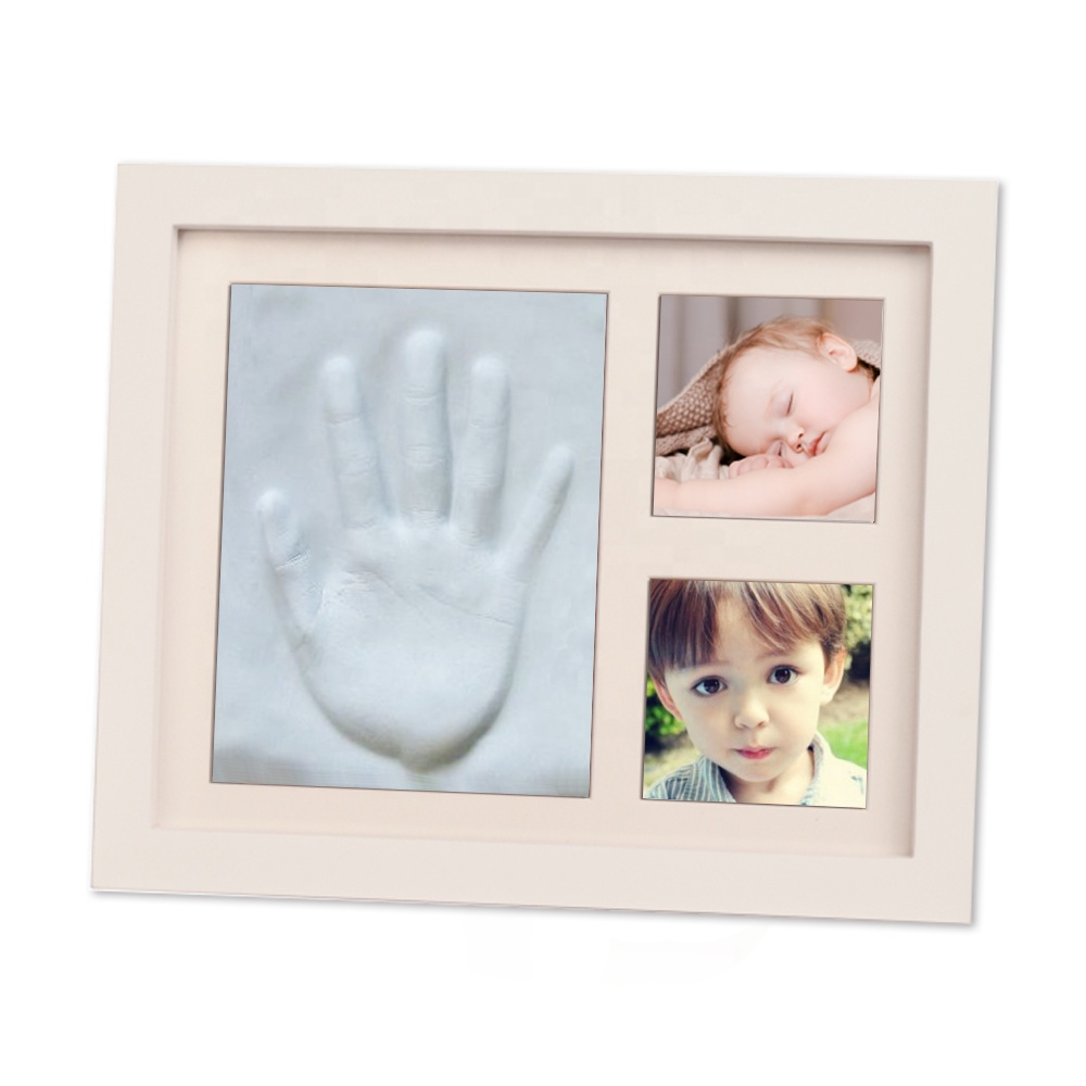 Baby Footprint European Multi Picture Boy and Girl Photo Frame
