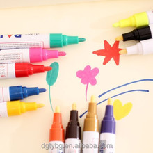 Hot selling color marker for cars with special paint ink oil painting pen