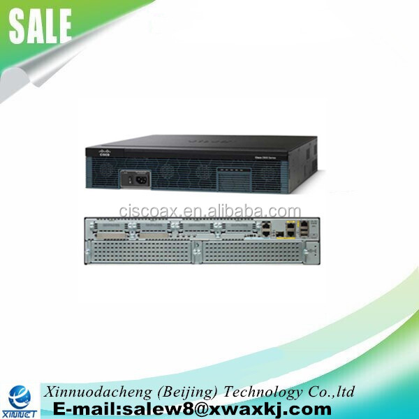CISCO2911//K9 Cisco 2911 2900 Integrated Services Router w// VWIC2-2MFT-T1//E1 Card