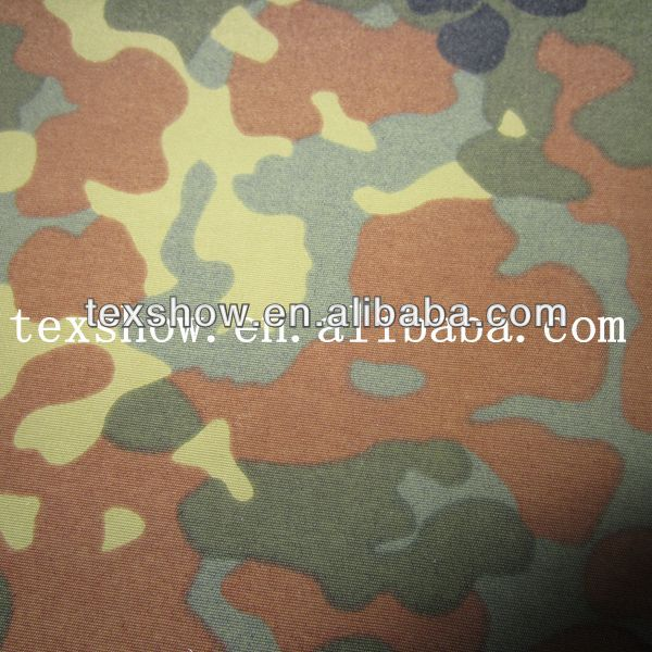 3-layers laminated breathable membrane and 30d nylon Tricot and 228T nylon taslan fabric for military use