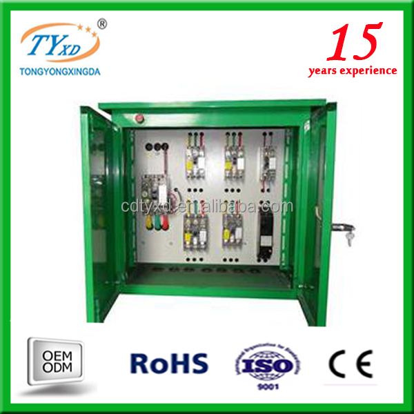 custom electrical switch panel board box size