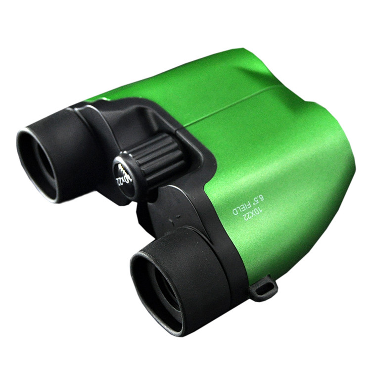 High Quality Porro Compact Kids Binoculars 10x22 for Gift