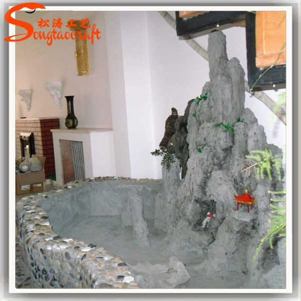Juegos de agua fuente de pared moderna para decoraci n de - Fuentes de pared de piedra ...
