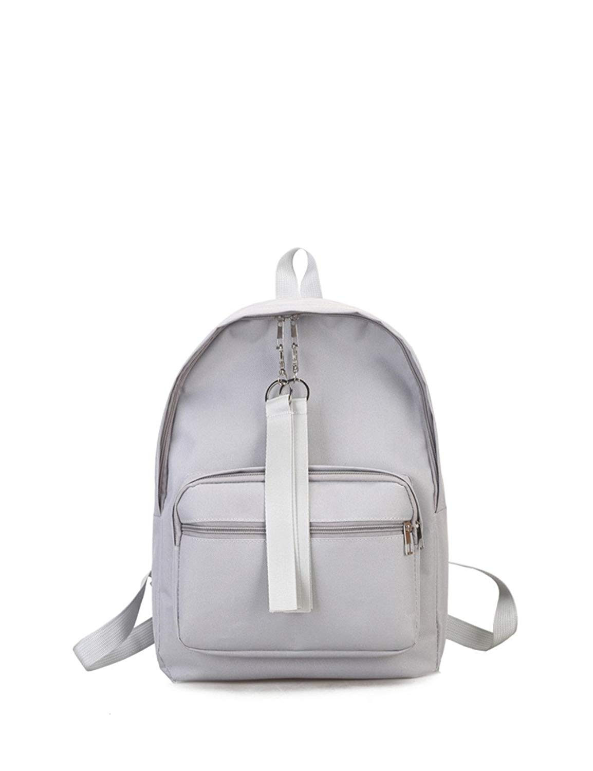 K.X.S Black Friday Promotions Womens Backpack Lacing Chic All Match Casual Backpack Color White