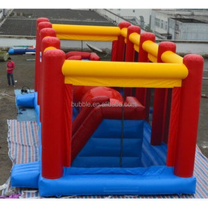 Inflatable Wipe Out,Interactive The Wipeout obstacle course, inflatable big roller
