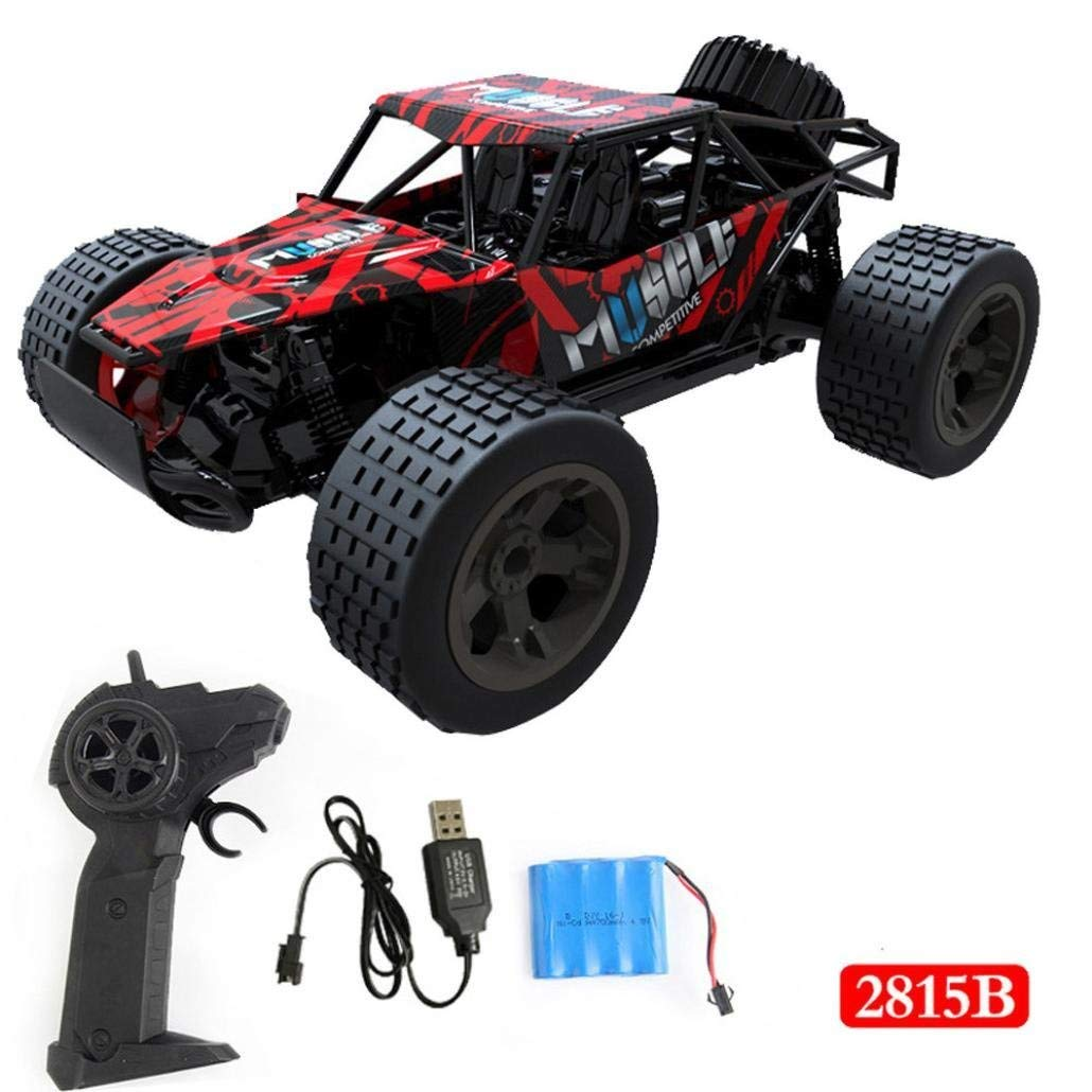 Outsta Radio Remote Control Car, Multiplecolor 2.4GHz High Speed RC Racing Car 4WD Remote Control Truck Off-Road Buggy Toys Truck Vehicle Electric Cars Gift for Boys (Multicolor-B)