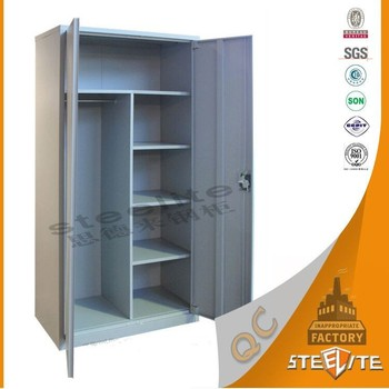 Malaysia Good Price Customized Steel Lockable Storage Portable Bedroom  Almirah Designs / Clothes Almirah /Steel