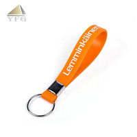 Fast delivery lanyards silicone mini key holder