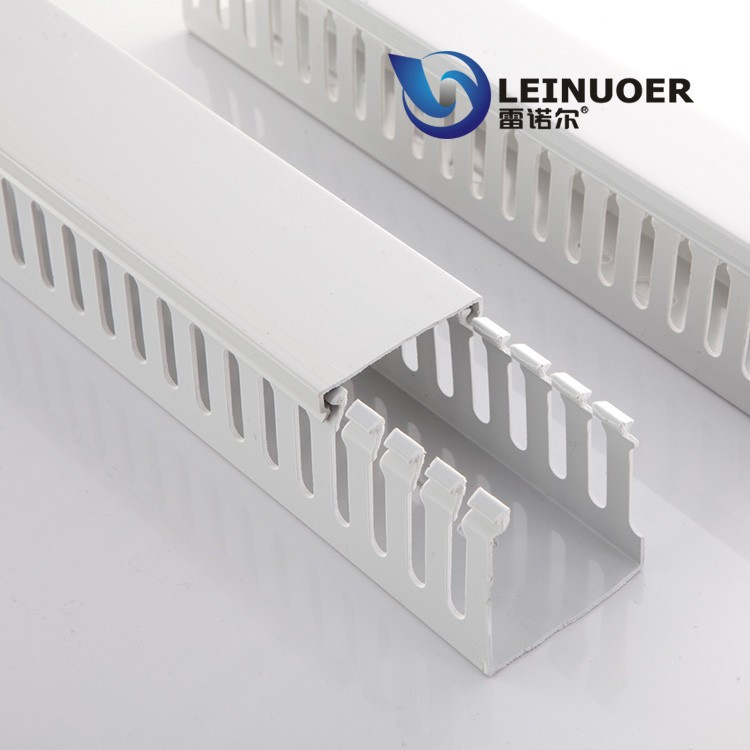 Halogen-free electrical plastic trunking pvc cable tray