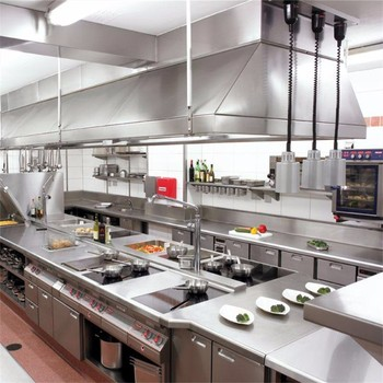 304 Commercial Kitchen Stainless Steel Wall Panels For 304 Washable Sheet  Used In Restaurants