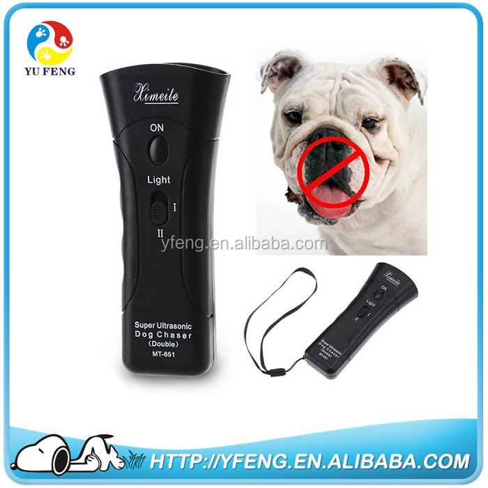 High Power Ultrasonic Dog Repeller Remote