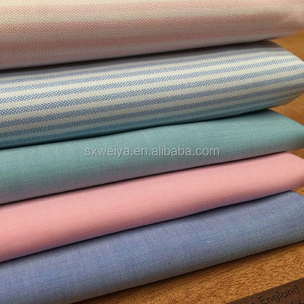 Cotton oxford fabric for shirt