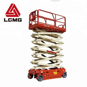 LGMG AS1412 16m hydraulic scissor lift aerial work platform machine used