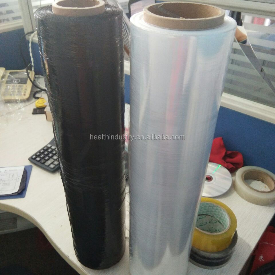 Manural wrap LLDPE stretch film