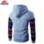 Windproof Feature different kinds design custom sublimation hoodies