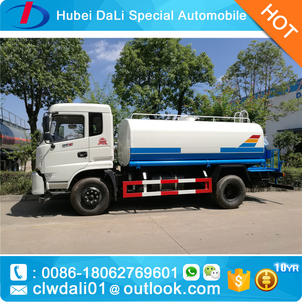 10Ton DFAC Water Bowser Lorry tanker for sale