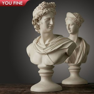 Factory Price Classical Famous Marble Female Bust Head Statue on Sale