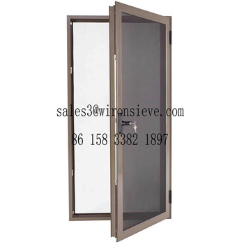 Stainless Steel Wire Mesh Security Door